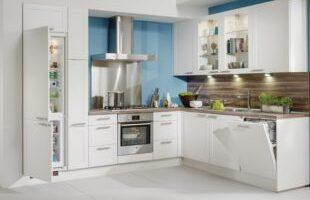 nieuwe moderne keuken